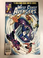 West Coast Avengers (1984) # 3 (NM) Canadian Price Variant CPV !
