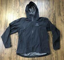 Arc'teryx Men's Black Full Zip Shell Jacket Size 2XL