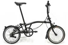 Brompton S2L 2018 Black edition 2 speed folding bicycle