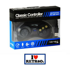 Mando Mega Drive USB Retrolink Classic Controller Gamepad Raspberry Windows PC