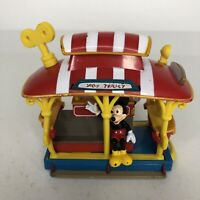 Vintage 1993 Disney Theme Park Attraction Jolly Trolley Mickey Minnie Mouse B4