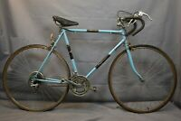 1972 Pegasus Vintage Touring Road Bike 58cm Large Blue Lugged Steel USA Charity!