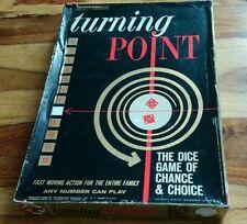 TURNING POINT jeu jeu de société très rare Transogram No. 5008.198 complete boxed