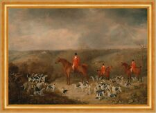 Lord Glamis and his Staghounds Dean Wolstenholme Younger Jagd Hunde B A3 01390