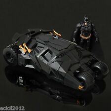 Dc The Dark Knight Batman Batmobile Tumbler Black Car Vehecle Toys With Figure