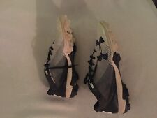 Under Armour Shoes Cleats size 11 US baseball Black / White 45001443412