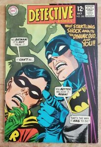 Detective Comics #380 VF- Batman Robin 1968 DC Silver Age! Lots of Photos