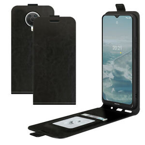 For Nokia G20 / Nokia 1.4 Retro Magnetic Vertical UP down Flip Leather Case