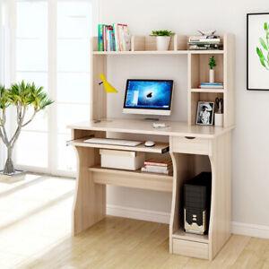 100cm Computer Desk Laptop PC Table Workstation Office Furniture Students Study