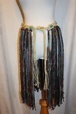 Tribal Fusion ATS Style Bellydance Yarn Skirt Belt  - Size S/M
