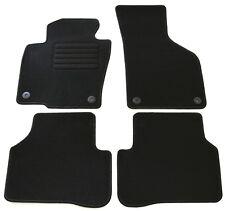 Fußmatten Set VW Passat 3C B6 + B7 in Schwarz 4teilig Matten Teppiche