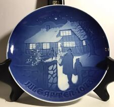 Vintage Jule After 1973 Country Christmas Royal Copenhagen B & G Collector Plate