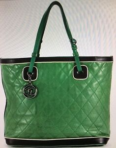 Chanel Quilted Tote Authentic w/Card/Dust Bag