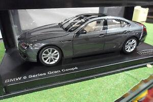 BMW 6 Series Gran Coupé Gris Space Grey 1/18 PARAGON PA - 97031 voiture miniatur