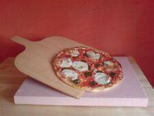 Pizzastein - Brotbackstein Schamotte 40 x 30 Pizzaschaufel