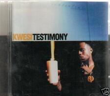 black music soul CD KWESI TESTIMONY