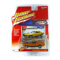 Johnny Lightning JLMC001A-6 Ford Mustang Mach 1 orange - Muscle Cars 1:64 NEU!°