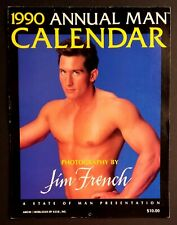 JIM FRENCH 1990 Annual Man Calendar Male Nudes Gay Interest Photography
