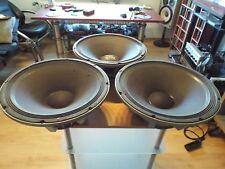 3 Stück Electro Voice 2*EVM 15B +1* Modell unbekannt 38cm Bass Lautsprecher
