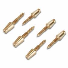 6 Pcs Door Hinge Security Pins, Hidden Door Hinge Security Screws Security Lock