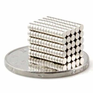 100Pcs N35-4*2mm Super Strong Round Disc Magnets Rare-Earth Neodymium Magnet