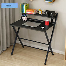 Folding Study Desk For Small Space Home Office Desk Laptop Writing Table