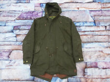 *SCOTCH & SODA WINTER CASUAL JACKE MANTEL*SUPER PARKA*ARMEE GRÜN*GR: L*WIE NEU