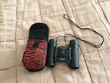Animal 8x21 Compact Pocket Lightweight Black Binoculars