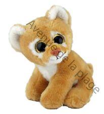 Peluche bébé Lionne 18 cm très douce au touché, doudous pas cher, jouet, neuf