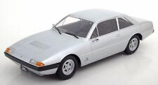 KK SCALE MODELS 1972 Ferrari 365 GT4 2+2 Silver LE500 1/18 Scale New In Stock