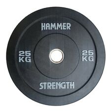 25kg Hammer Strength Bumper Plates Pair Olympic 2 inch weight / bumper plates