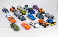Lot Of 20 Matchbox Random Die Cast Cars Trucks Jeeps Hot Rods Vehicles Vintage