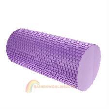 31cm Gym ExerciseFitness Floatingpoint Eva Yoga Foamroller Physir Massage Blue
