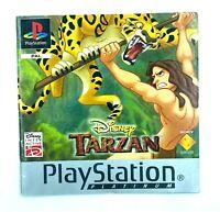 Notice jeu PS1 Disney Tarzan PAL Playstation Manuel Instruction Booklet