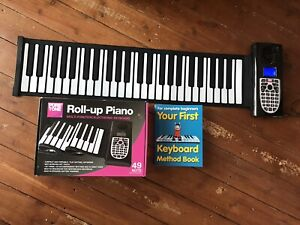 Puretone 49 key Roll Up Piano Keyboard...excellent Condition