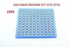 Anmas power 100x 1.5V Alkaline Coin Button Cell Battery LR626 377 SR626 177 AG4
