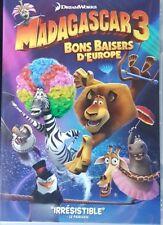 DVD du dessin animé MADAGASCAR 3 : Bons baisers d'Europe - DreamWorks