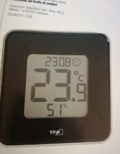 termometro igrometro  con orologio ref. 22850