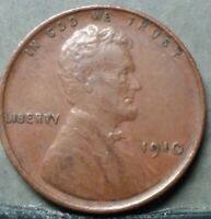 1910 LINCOLN WHEAT CENT, FREE AND PROMPT SHIPPING