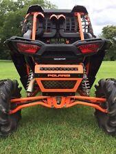 Polaris RZR 1000 Muffler cover grill  powder coated orange