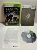 Halo: Reach (Xbox 360, 2010) Game With Manual