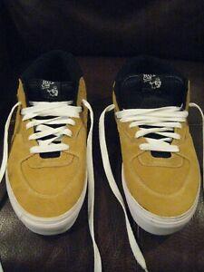 Vintage Vans Half Cab 1992 Tan Men's sz 13  Pro Skateboard Shoes Suede