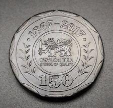 2017 SRI LANKA Ceylon 10 Rupee Tea 150th Anniversary Commemorative 10 pcs lot