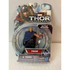 "Marvel BATTLE HAMMER THOR The Dark World 3.75"" Action Figure 2013 MCU"
