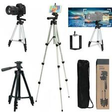 Universal Telescopic Camera Phone Tripod Mount Holder for iPhone Samsung + Bag