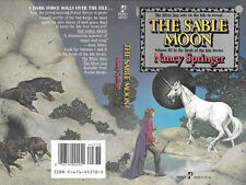 Carl Lundgren autographed this Nancy Springer book cover The Sable Moon