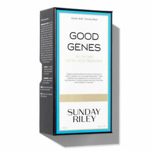 Sunday Riley Good Genes All-in-One Lactic Acid Treatment - 1.7oz/50mL New in Box