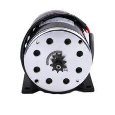 500W 24V Electric Motor with Bracket Scooter Bike Go-kart Minibike MY1020