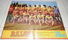 MIROIR FOOTBALL N°343 1979 POSTER RC LENS RCL DECASTEL SAHNOUN HONGRIE BRESIL