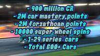 Forza Horizon 4  | 600 Rare cars | For Xbox | Read Description